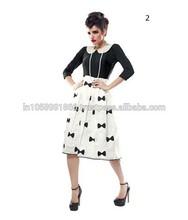 Dama de la moda de vestir de diseño/populares elegante vestido de noche