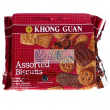 KHONG GUAN ASSORTED RED Biscuit 300gr