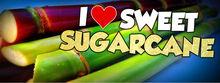 I love sugarcane stickers set of 100