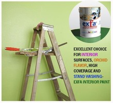Interior Paint High quality, high coverage, stand washing and orchid flavor JIS Standard EXFA