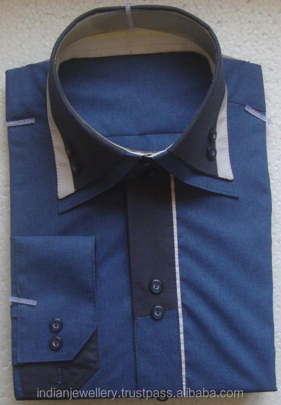 Как сшить двойной воротник на мужскую рубашку 37