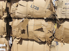 Double sorted old corrugated carton , Waste paper cardboard , Old corrugated carton box