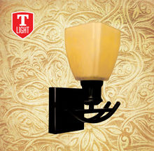 Antique Flower Wall Lamp glass wall sconce
