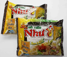 Instant (Hu Tieu) Rice Noodles 60g - Beef, Orient, Vegetable, Chicken Flavours