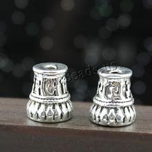 diy Budist boncuk çinko alaşımı antika gümüş renkli kaplama Budist takı ve Om Mani Padme nikel kurşun ve kadmiyum ücretsiz 10x11mm h