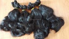 supper india wavy virgin hair soft and silky texture 100% same size human hair