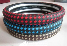 2015 new steering wheel cover L,High quality,Cheap and fine,They can prevent the dirty, beautiful,