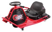Razor Crazy Cart,Red Go Cart Racing Outdoor Kids Car Buggy