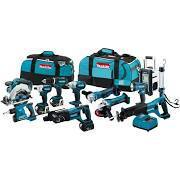 BUY 5 GET 2 FREE Makita LXT1500 18V- Lithium-Ion Cordless 15-Piece Combo Kit