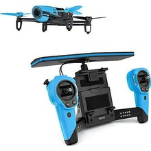 Buy 3 get 1 free for Parrot Bebop Drone Quadcopter with Skycontroller Bundle (Blue)