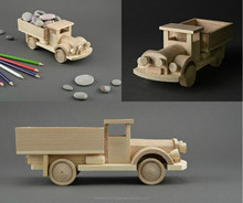 Handmade wooden toy Truck for kids