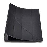 Suitable For IPad 1/2 Smart Magnetic Case Cover Auto Sleep and Wake Up Function Foldable Stand Mount Impact Resistant Black