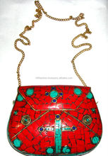 2014 Indian party cross evening clutch bags for women