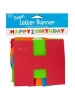 8 ft big 1 dots boy foam letter happy birthday banner