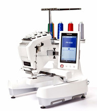 All original Latest Brother PR650E 6-Needle Machine Sewing and Embroidery Machine with bonus accessories