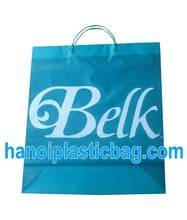 plastic bag with rigid handle