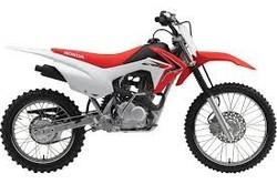 USED 2015 HNDA CRF125F BIG WHEEL MOTORCYCLE