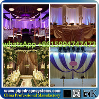 promotional portable Pipe and Drape System used at Casinos