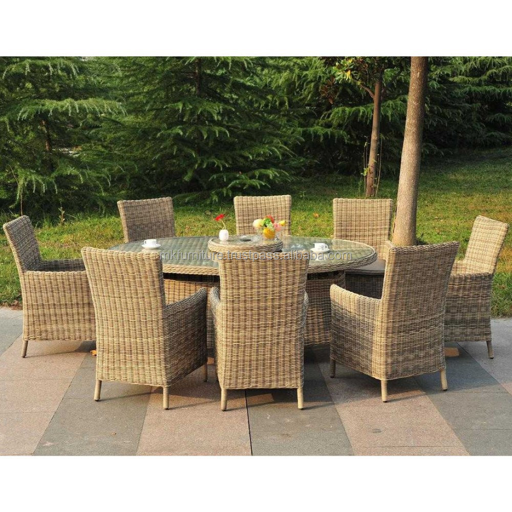 Poly rattan dining set outdoor furniture vietnam for Outdoor furniture vietnam