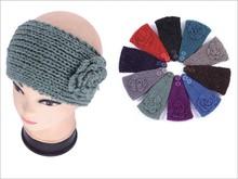 Wholesale Women's Knit Headbands Ear Warmer Glitter