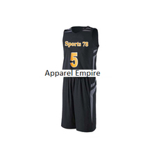 athletic basketball jersey wear SUIT CUSTOM UNIFORM FOR SPORTS