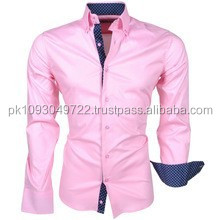 fashion style men's shirt long sleeve fashion slim fit men shirt with factory price,new model shirts for men