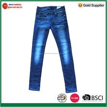 Fashion Style Cotton/Polyester/Spandex Denim Pant