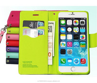 For iphone 4s 5s 5c 6 6plus Samsung s3 s4 s5 s6 note 4 Fancy Wallet cases Leather flip card slot cover cases