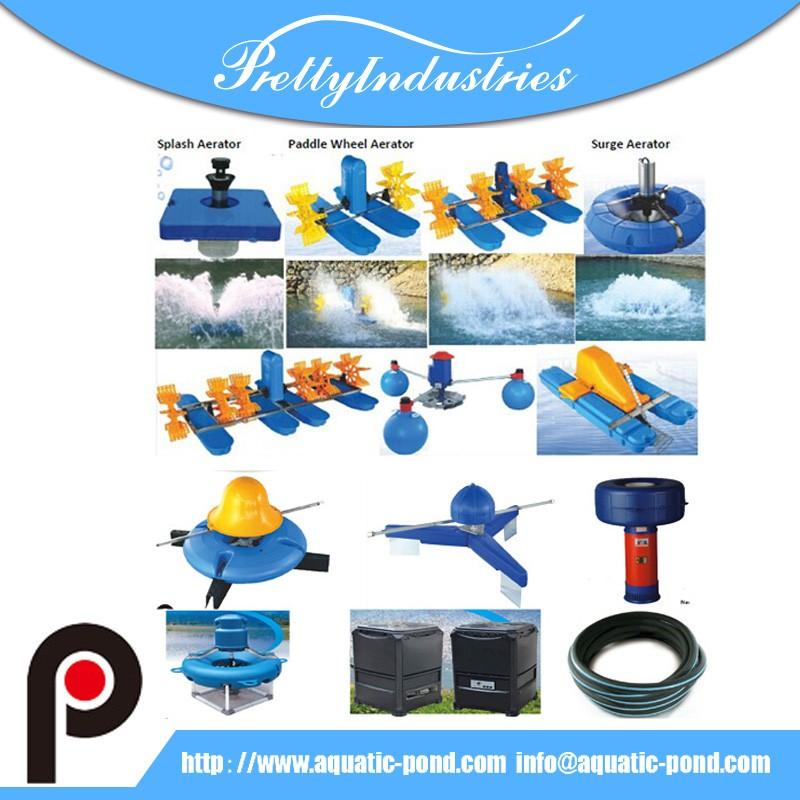Solar poderes aireador rueda de paletas aireadores for Aireadores para estanques piscicolas