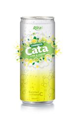 330ml Carbonated Lime & Lemon Flavor Drink