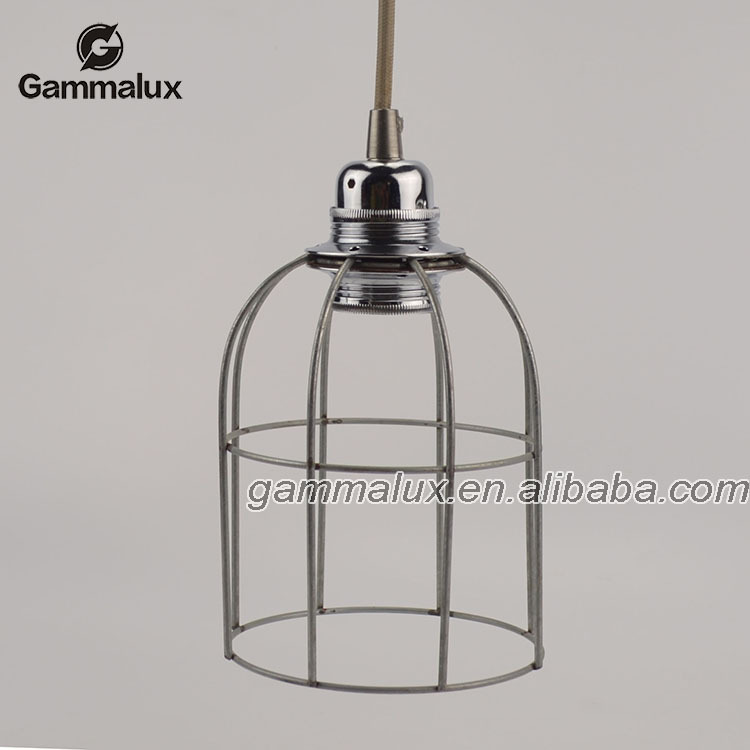 different style cage lamp modern metal cage hanging lamp