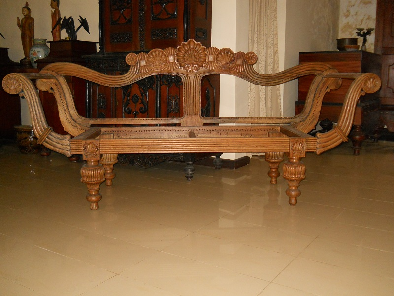 antique colonial sofa buy antique sofas product on. Black Bedroom Furniture Sets. Home Design Ideas