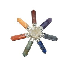 Supplier of Healing Energy Tools - Chakra Point with Crystal Point Raw Generator :