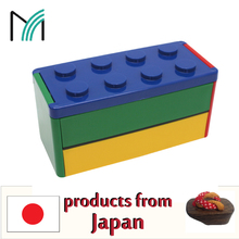 modern or traditional and compact kids lunchbox bento with conserving properties made in Japan