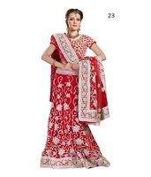 Elegantly Printed Design Indian Cotton Saree/Lehnga