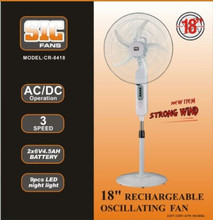 """18"""" Charging Fan"""