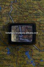 Tritium illuminated Map Reader/Magnifier