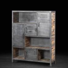 Industrial Vintage Bookcase