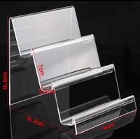 Mobile Phone Display Organic Glass ear 15.5x16.5x14cm,7.0x2.5cm 5PCs/Lot Sold By Lot