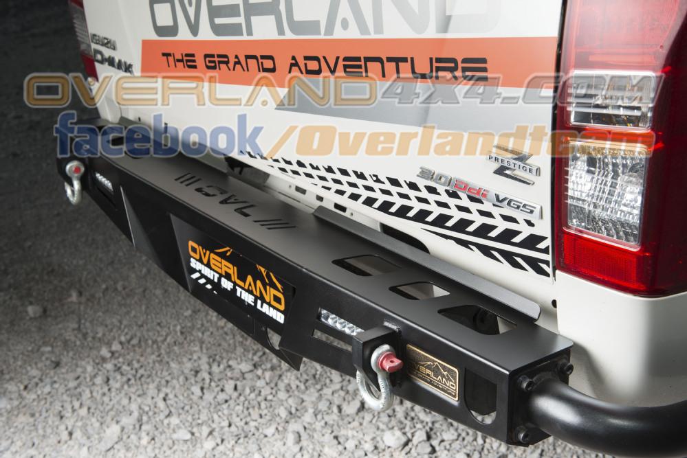 Rear Bumper K2 Next Trail For Isuzu All New D Max Buy