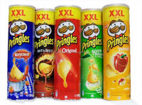 canned potato chips 160g pringles style