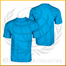 Custom Made T-Shirts, 100% Cotton Men Style Blank T Shirt Wholesale Price in Pakistan