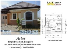 House and lot for sale in pampanga Aster model la tierra solana ready for occupancy