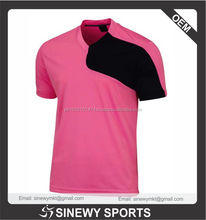 Soccer Jerseys/ Custom soccer teamwear pink & black