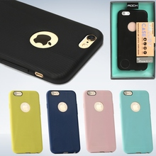 Matte Rock Melody Silicone / Rubber 0.4mm Ultra-thin Slim Fit Rugged Cover Case for iPhone 6 & 6s 4.7 Wholesale Los Angeles