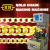 Gold Chain Making Machine with Plasma Soldering System
