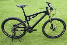 Laplace 26er full suspension carbon mountain bike