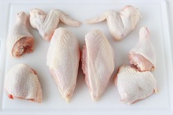 Frozen hallal Chicken wings and chicken parts