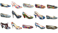 MADE IN SPAIN: SOME TYPE OF SHOES AND DIFFERENT STYLES WITH ITALIAN MULTICOLOR LEATHERS 100%