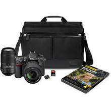 DISCOUNT FOR Nikon D7100 DSLR Camera Kit with 18-140mm and 55-300mm Lenses Brand New